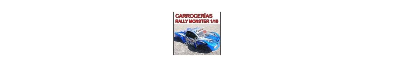 Carrocerias - Carcasasas para Short Course - Rally Monster RC 1/10