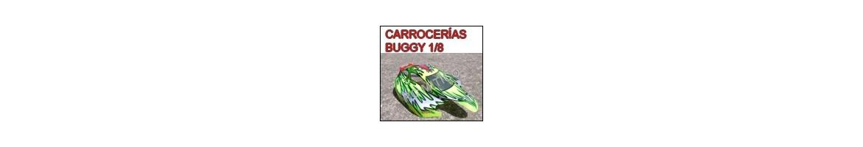 Carrocerias - Carcasasas para Buggy RC 1/8