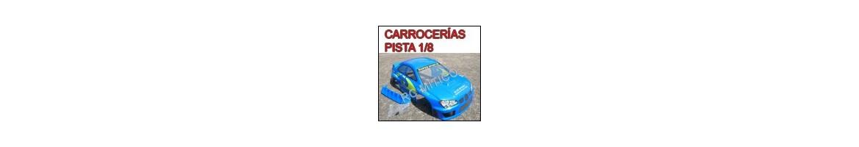 Carrocerias para Pista - Racing 1/8 - Radiocontrol competicion
