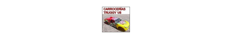 Carrocerías para Truggy 1/8 - Radiocontrol