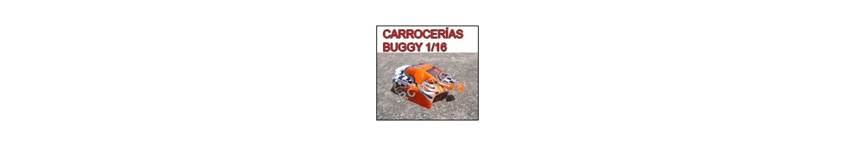 Carrocerias para Buggy 1/16 - Radiocontrol