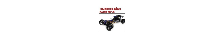 Carroceria Buggy Bajer 5B 1/5 - Radiocontrol
