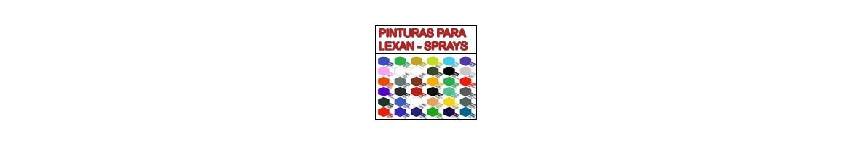 Pinturas Spray para Lexan - CARROCERIAS RC