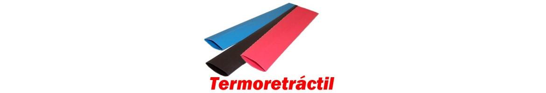 Tubo termoretractil de diferentes diametros y colores