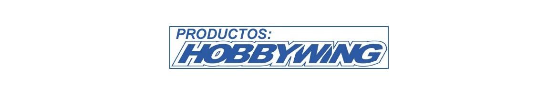 Productos Hobbywing (ESC, Variadores, Tarjetas programadoras, adaptadores, etc...)