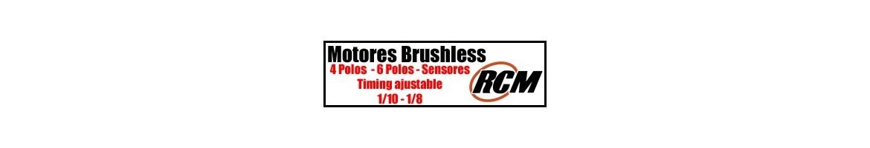 Motores RCM Brushless para RC