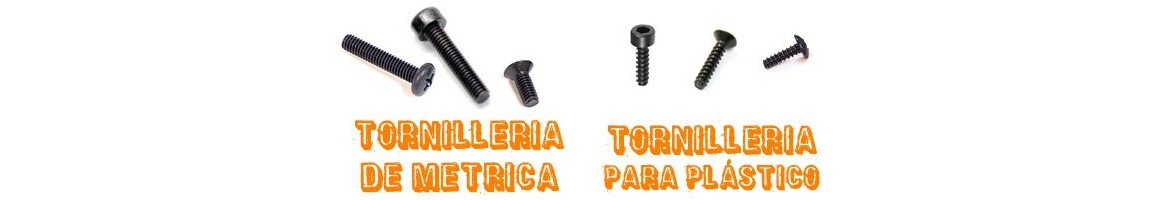 Screws for RC cars - All kinds - All sizes